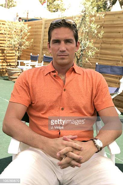 Jim Caviezel during 2004 Cannes Film Festival Jim Caviezel Portraits at The American Pavilion in Cannes France