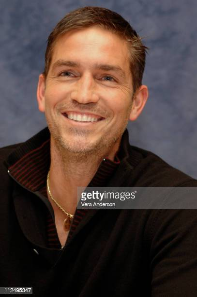 Jim Caviezel during Deja Vu Press Conference with Jim Caviezel Tony Scott Denzel Washington Paula Patton and Jerry Bruckheimer at Hyatt Century Plaza...