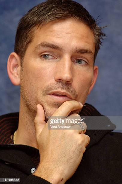 Jim Caviezel during 'Deja Vu' Press Conference with Jim Caviezel Tony Scott Denzel Washington Paula Patton and Jerry Bruckheimer at Hyatt Century...