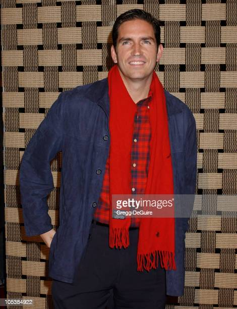 Jim Caviezel during 'Hotel Rwanda' Los Angeles Premiere Arrivals at Academy Theatre in Beverly Hills California United States