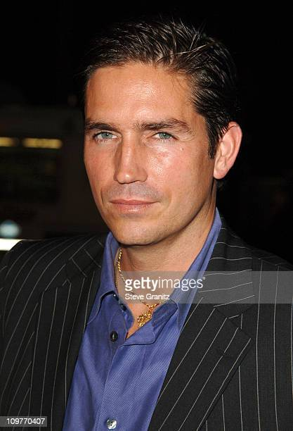 Jim Caviezel during I Walk the Line A Night for Johnny Cash Day 2 Arrivals at Pantages Theatre in Hollywood California United States