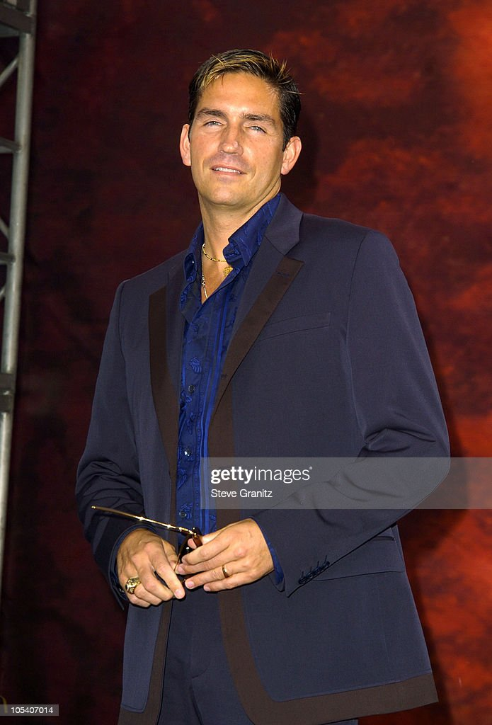 Jim Caviezel during MTV Movie Awards 2004 - Arrivals at Sony Pictures Studios in Culver City, California, United States.