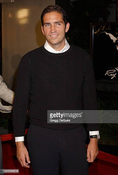Jim Caviezel during 'Ray' Los Angeles Premiere Arrivals at Cinerama Dome in Hollywood California United States