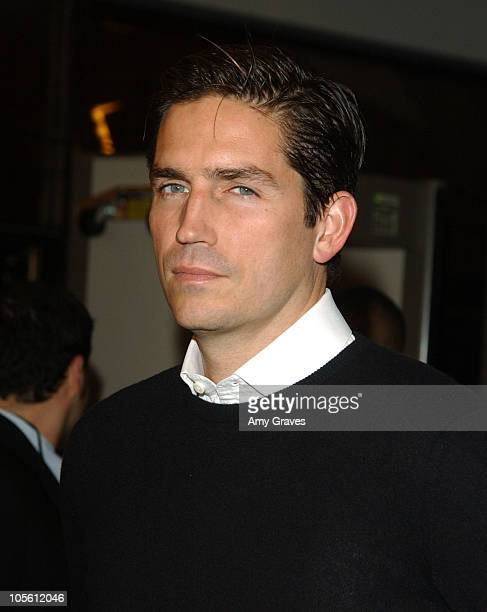 Jim Caviezel during The New World Los Angeles Premiere to Benefit the American Film Institute at Academy of Motion Picture Arts and Sciences in...