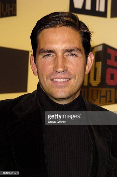 Jim Caviezel during VH1 Big in '04 Arrivals at Shrine Auditorium in Los Angeles California United States