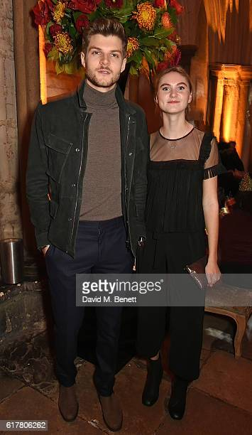 Jim Chapman and guest attend Marvel Studios and British GQ hosted reception in The Cloisters at Westminster Abbey, to celebrate the release of Doctor...