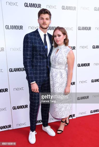 Jim Chapman and Tanya Burr attend the Glamour Women of The Year Awards 2017 at Berkeley Square Gardens on June 6 2017 in London England