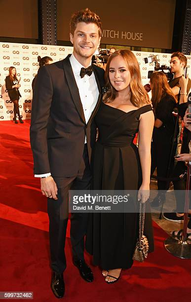 Jim Chapman and Tanya Burr attend the GQ Men Of The Year Awards 2016 at the Tate Modern on September 6 2016 in London England