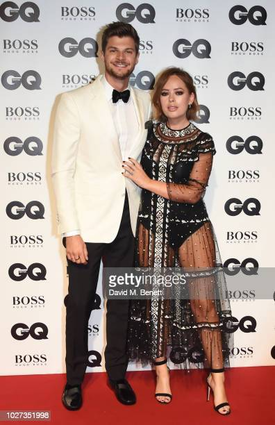 Jim Chapman and Tanya Burr attend the GQ Men of the Year Awards 2018 in association with HUGO BOSS at Tate Modern on September 5 2018 in London...