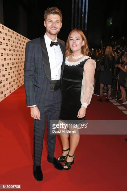 Jim Chapman and Tanya Burr attend the GQ Men Of The Year Awards at the Tate Modern on September 5 2017 in London England