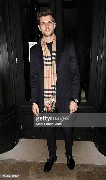 Jim Chapman attending the GQ Closing Dinner London Collections Men Autumn Winter 2016 on January 11 2016 in London England