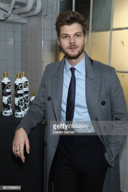 Jim Chapman attends the Belstaff AW18 Mens Womens Presentation during London Fashion Week Men's January 2018 on January 8 2018 in London England