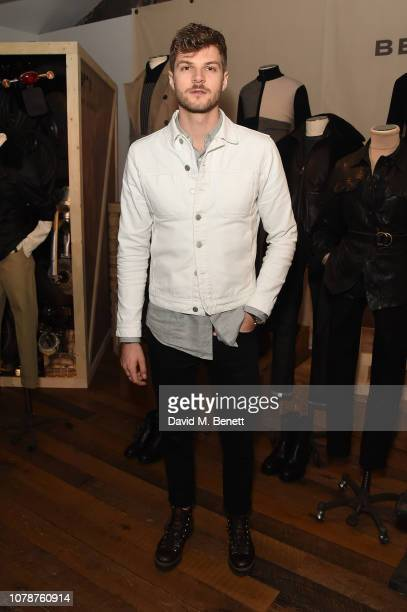 Jim Chapman attends the Belstaff presentation during London Fashion Week Men's January 2019 at Belstaff House on January 7 2019 in London England