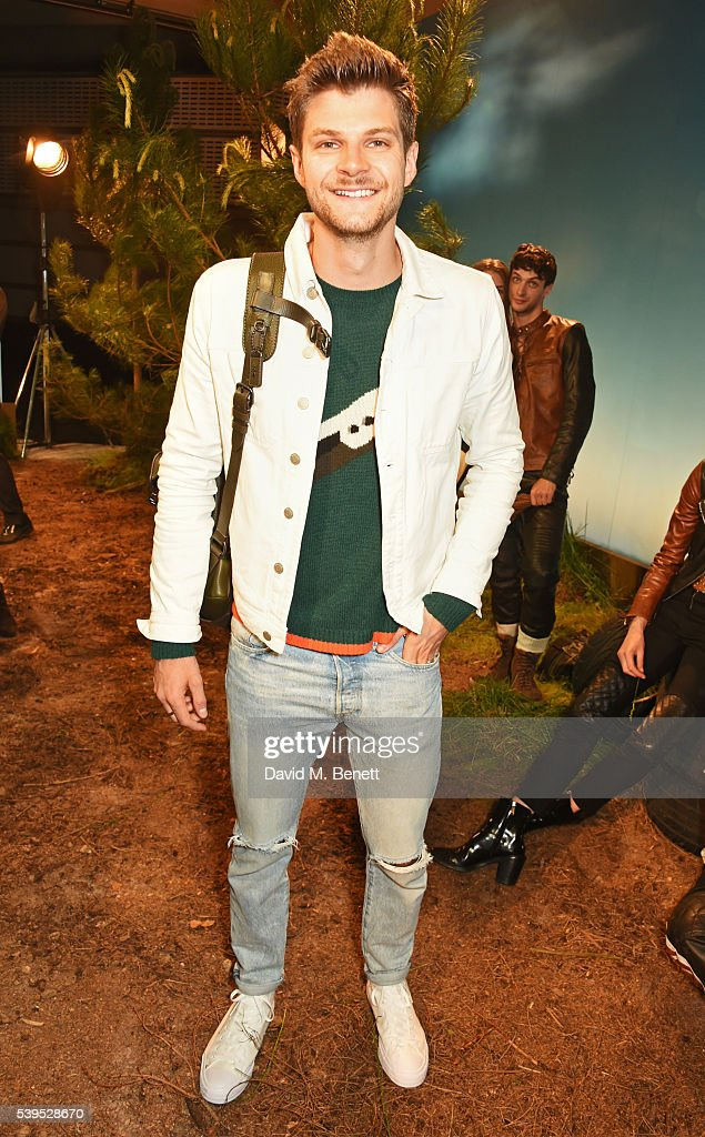 Jim Chapman attends the Belstaff presentation during The London Collections Men SS17 at QEII Centre on June 12, 2016 in London, England.