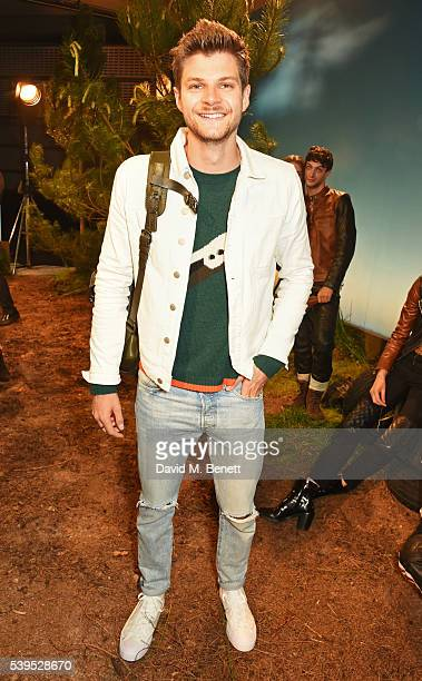 Jim Chapman attends the Belstaff presentation during The London Collections Men SS17 at QEII Centre on June 12 2016 in London England