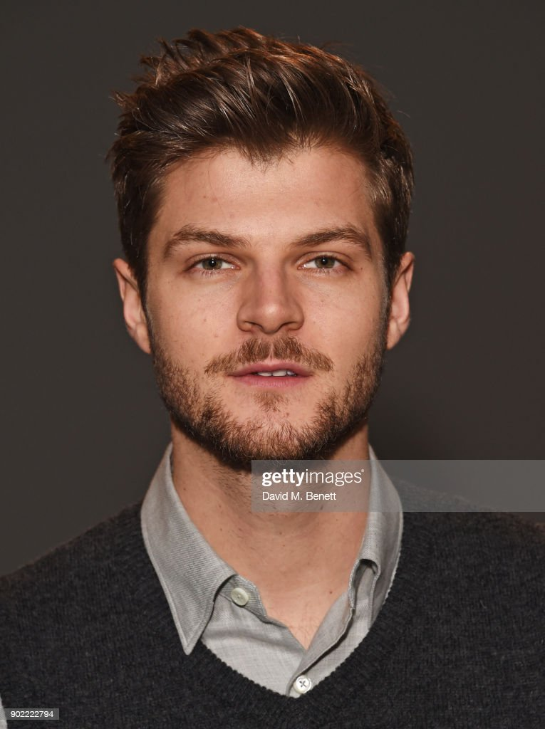 Jim Chapman attends the Christopher Raeburn show during London Fashion Week Men's January 2018 at BFC Show Space on January 7, 2018 in London, England.