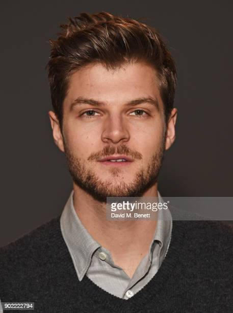 Jim Chapman attends the Christopher Raeburn show during London Fashion Week Men's January 2018 at BFC Show Space on January 7 2018 in London England