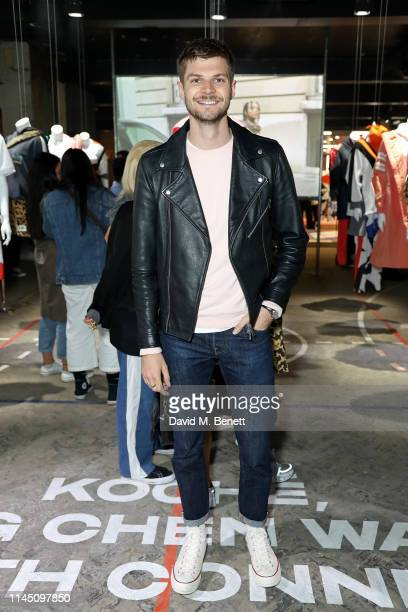 Jim Chapman attends the Converse collaboration launch with Koche, Feng Chen Wang and Faith Connexion on April 25, 2019 in London, England.