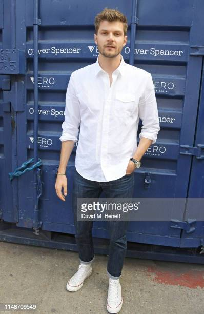 Jim Chapman attends the Oliver Spencer Menswear SS20 show during London Fashion Week Men's June 2019 on June 9 2019 in London England