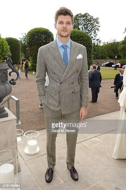 Jim Chapman attends The Ralph Lauren & Vogue Wimbledon Summer Cocktail Party hosted by Alexandra Shulman and Boris Becker at The Orangery at...