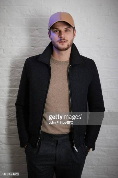 Jim Chapman attends the River Island x Blood Brother Party during London Fashion Week Men's January 2018 at Hoxton Basement on January 6 2018 in...