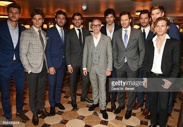 Jim Chapman Oliver Cheshire Robert Konjic Johannes Huebl Tommy Hilfiger Andres Velencoso Paul Sculfor David Gandy Toby HuntingtonWhiteley and Dougie...
