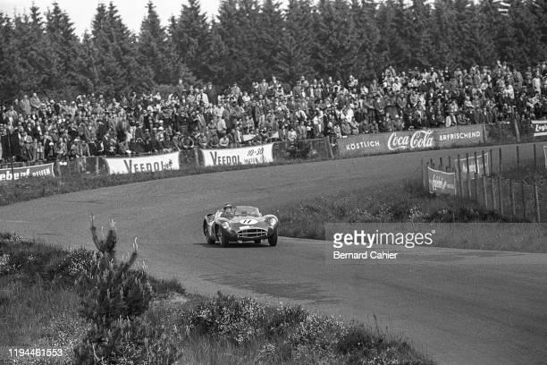 Jim Clark, Aston Martin DBR1, Nürburgring 1000 Kilometres, Nurburgring Nordschleife, 28 May 1961.