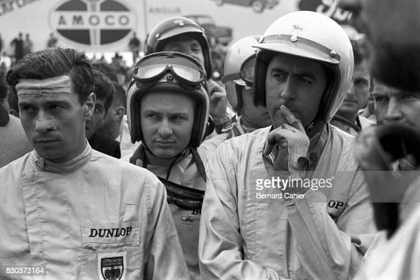 Jim Clark Bruce McLaren Dan Gurney Jack Brabham Grand Prix of Italy Monza 06 September 1964