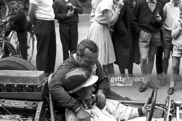 Jim Clark Colin Chapman Lotus 25 Coventry Climax Grand Prix of Belgium Spa Francorchamps 17 June 1962