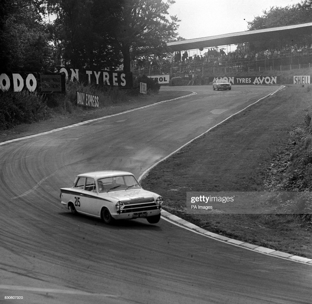 Clark Lotus Cortina : News Photo