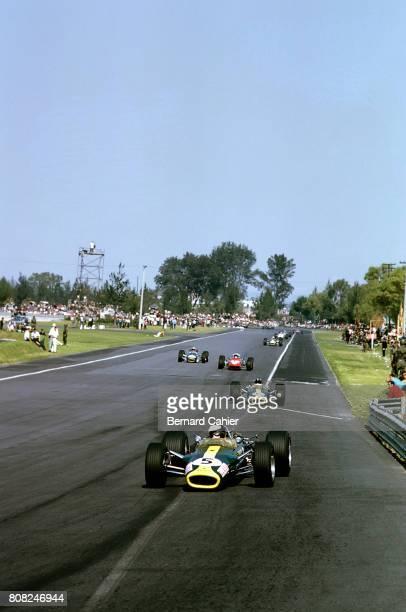 Jim Clark Graham Hill Lotus 49 Ford Cosworth Grand Prix of Mexico Autodromo Hermanos Rodriguez 22 October 1967