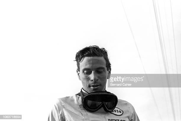 Jim Clark, Grand Prix of Mexico, Autodromo Hermanos Rodriguez, Magdalena Mixhuca, 27 October 1963.