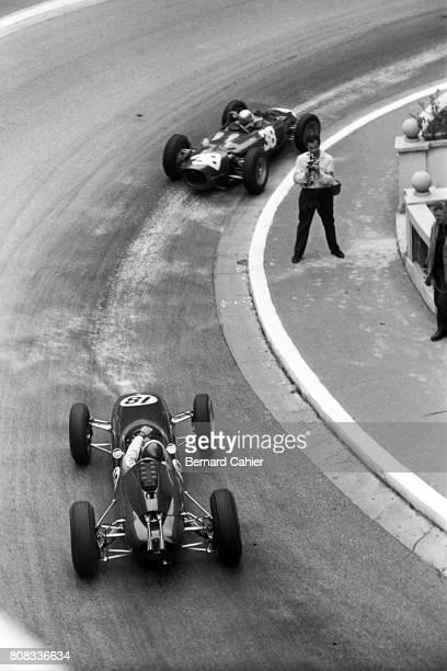 Jim Clark Lorenzo Bandini Lotus 25 Coventry Climax Ferrari 156 Grand Prix of Monaco Monaco 03 June 1962