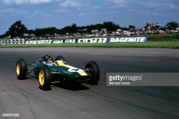 Jim Clark Lotus 25 Coventry Climax Grand Prix of Great Britain Silverstone 20 July 1963