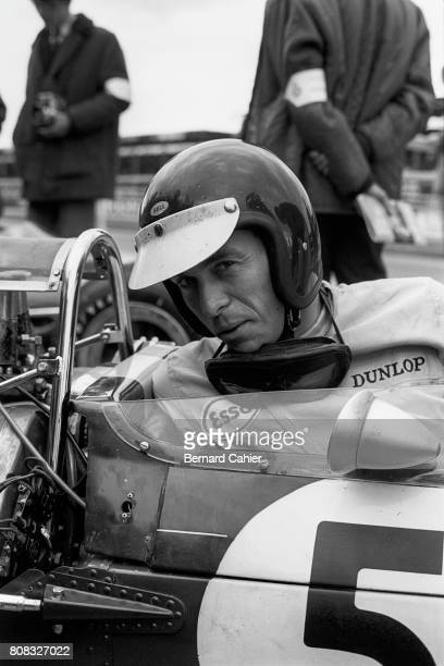 Jim Clark Lotus 33 Coventry Climax Grand Prix of Great Britain Silverstone 10 July 1965