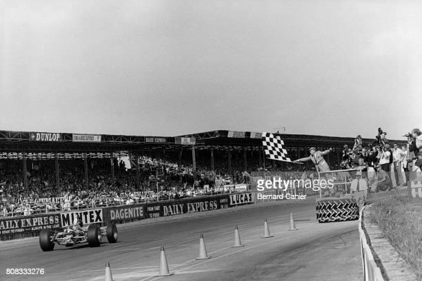 Jim Clark Lotus 49 Ford Cosworth Grand Prix of Great Britain Silverstone 15 July 1967