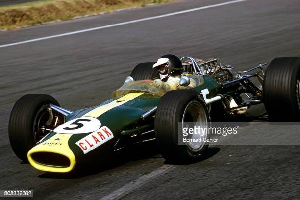 Jim Clark Lotus 49 Ford Cosworth Grand Prix of Mexico Autodromo Hermanos Rodriguez 22 October 1967