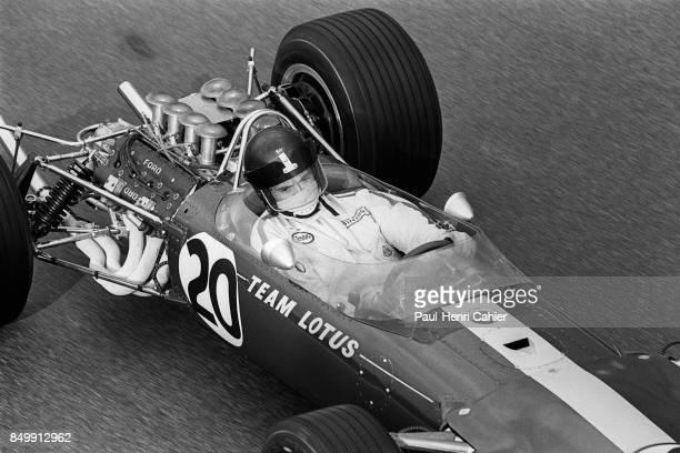 Jim Clark LotusFord 49 Grand Prix of Italy Autodromo Nazionale Monza Monza Italy September 10 1967