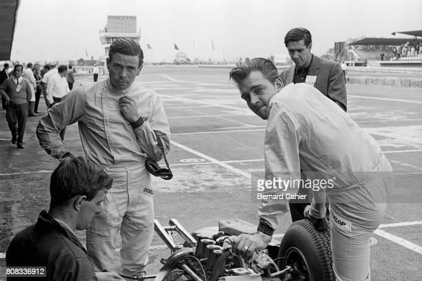 Jim Clark Trevor Taylor Grand Prix of Mexico Autodromo Hermanos Rodriguez 27 October 1963