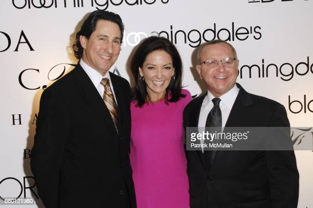 Jim Coia Margaret Russell and Joe Laneve attend ELLE DECOR and BLOOMINGDALE'S Celebrate Reopening of Furniture Department With Auction Benefitting...