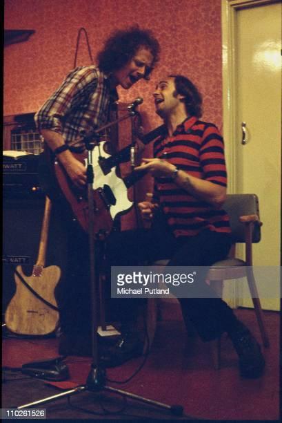 Jim Cregan and Roger Chapman of Family rehearsing in Harlesden London 17th July 1972