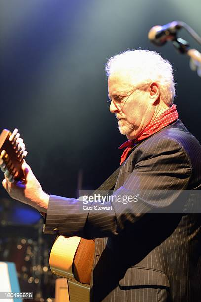 Jim Cregan of Family performs on their 40th anniversary at O2 Shepherd's Bush Empire on February 1 2013 in London England