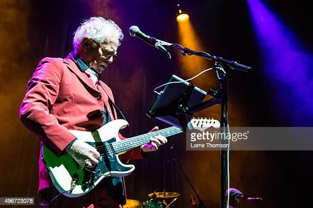 Jim Cregan performs with Steve Harley at Indigo2 at The O2 Arena on November 11 2015 in London England