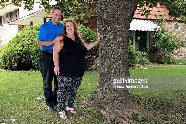 Jim Crosby and his wife Lorraine Charland poses at their Oshawa home September 9 2014 The couple talks about their emotional roller coaster when Jim...