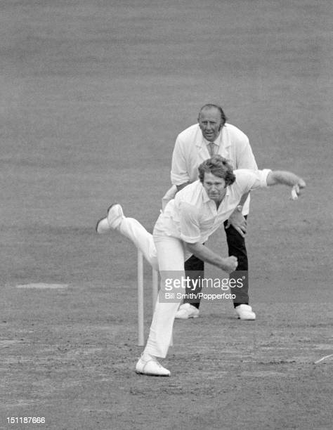 Jim Cumbes bowling for Worcestershire during their John Player League match against Sussex at Dudley 25th June 1972 Worcestershire won by 170 runs