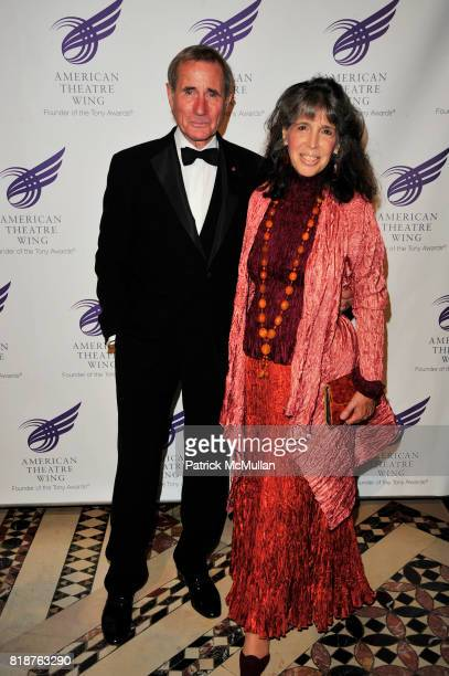 Jim Dale and Julia Schafler attend 2010 American Theater Wing Gala at Cipriani 42nd NYC on June 7, 2010.