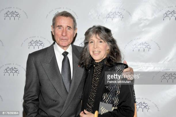 Jim Dale and Julia Schafler attend New York Stage and Film Honors LAURA LINNEY and JORDAN ROTH at Annual Winter Gala at The Plaza Hotel on December...