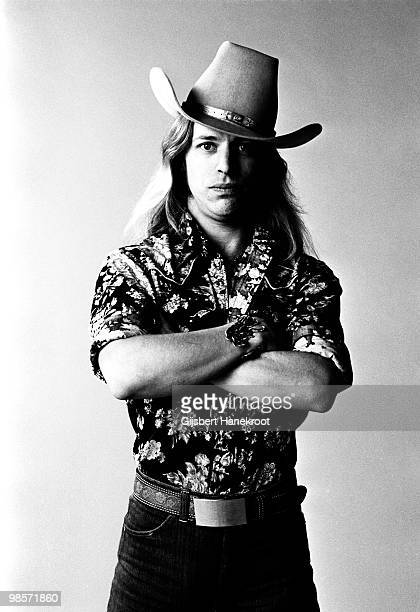Jim Dandy from Black Oak Arkansas posed in Amsterdam Netherlands in 1975