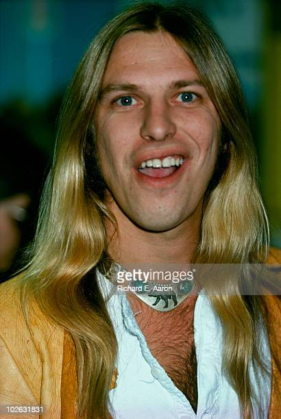 Jim 'Dandy' Mangrum of Black Oak Arkansas in New York City in 1976