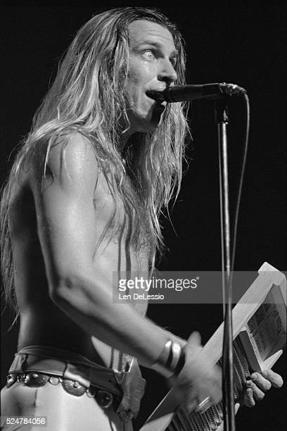 Jim Dandy Mangrum performing with Black Oak Arkansas at The Beacon Theater in New York City October 111975